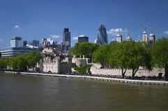 London. Places in London - Tower of London Royalty Free Stock Images