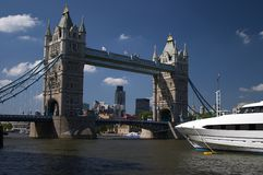 London. Places in London - Tower Bridge Stock Photo