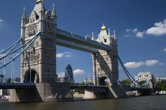 London. Places in London - Tower Bridge Stock Image