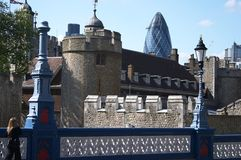 London. Places in London - Tower of London Stock Photo