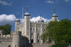 London. Places in London - Tower of London Royalty Free Stock Photos