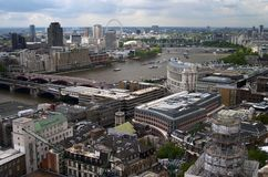 London. From above Stock Photography