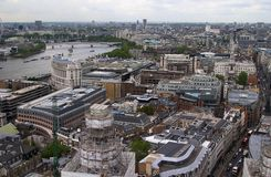 London. From above Stock Photo