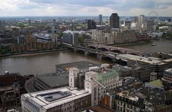 London. From above Royalty Free Stock Images