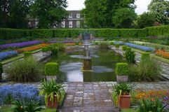 London. Places in London - Queen's garden Royalty Free Stock Image