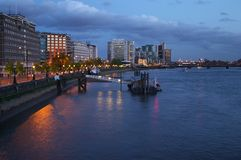 London. Places in London - Thames River Stock Photo