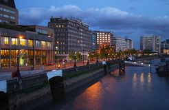 London. Places in London - Thames River Stock Image