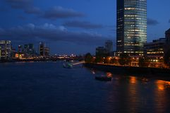 London. Places in London - Thames River Royalty Free Stock Photography