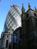 London. 30 St Mary Axe (The Gherkin), London stock photo