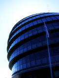 London 152. This is the mayors building in central London (Its sometimes called the Alien head stock images