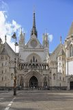 ухаживает стренгу london правосудия Англии королевскую Стоковые Изображения