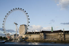 LONDON - 16. JUNI: London-Auge am 16. Juni 2012 Lizenzfreie Stockbilder