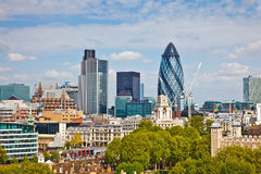 London. View on city of London Stock Photos