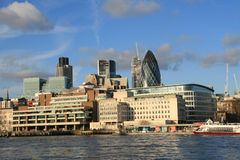 London. Modern district of London, UK stock photo