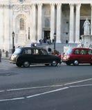 London 2 taksówkę Obrazy Royalty Free