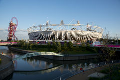 London 2012. Olympic Stadium and Orbit Stock Images