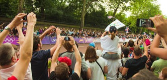 London 2012 Royaltyfria Bilder