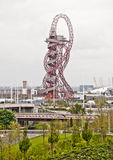 London 2012: ArcelorMittal orbit Royalty Free Stock Image