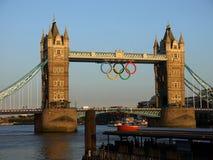 London 2012: Kontrollturmbrücke - h Lizenzfreies Stockfoto