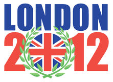 London 2012 Olympic games Stock Photography