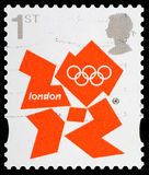London 2012 Olympic Games Postage Stamp Stock Images