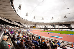 London 2012: olympic stadium Royalty Free Stock Photography