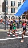 London 2012 olympiska maraton Fotografering för Bildbyråer