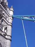 London 206. This is a close up of Tower bridge in London Stock Image