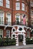 роскошь london гостиницы стоковое изображение