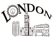 london стоковая фотография