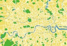 London. Layered vector illustration pattern map of London royalty free illustration