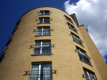 London 495. This is one of many residential  buildings in London's Docklands Royalty Free Stock Photography