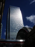London 527. This is Canary Wharf  in  London's Docklands Royalty Free Stock Images