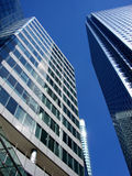 London 532. This is Canary Wharf  in  London's Docklands Royalty Free Stock Photography