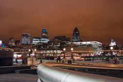 London. At night Stock Photography