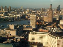 London. Aerial view Stock Photography