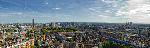 London. Overvwiev of london, capital of Uk Royalty Free Stock Photo