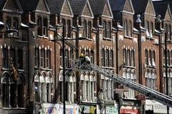 LONDON - 9. AUGUST: Clapham Verzweigungsbereich ist sacke Lizenzfreies Stockfoto