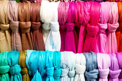 in  london accessory colorfull scarf  headscarf Royalty Free Stock Image