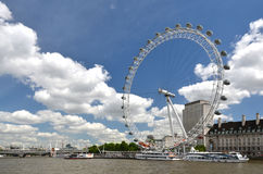 London across Thames rives Royalty Free Stock Images
