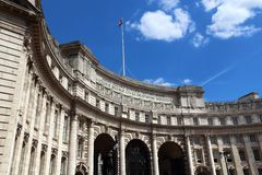 London Admiralty Arch Stock Photography