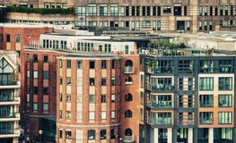 London. Aerial view of cityscape Royalty Free Stock Photography