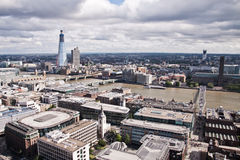 London aerial view Royalty Free Stock Images