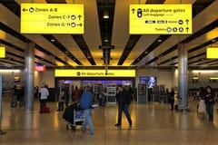 London airport Royalty Free Stock Photos
