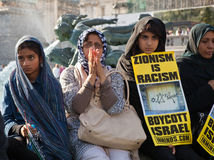 London Al-Quds march Stock Images