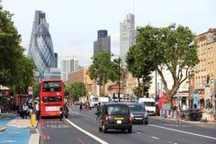 London Aldgate Arkivfoton
