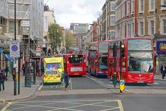 London Ambulance Royalty Free Stock Images