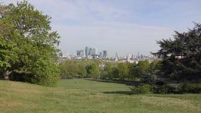 London Ansicht des zentralen Bereichs stock footage