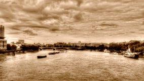 London-Ansicht von Blackfriars-Brücke Lizenzfreie Stockfotos