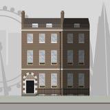 London apartment building Stock Image